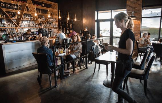 Proof Gastropub Bar Area